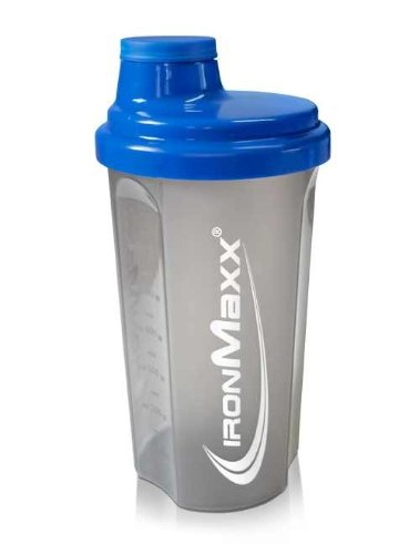 Ironmaxx Shaker, 1 x 700 ml, Blau/Grau