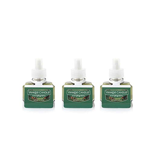 Yankee Candle Pack of 3 Balsam & Cedar ScentPlug Refill Fresh - Home Fragrancer