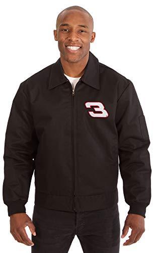 Mens Nascar Dale Earnhardt Sr Mechanics Work Jacket with Front Chest Emblem (3X, -