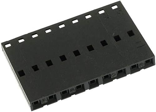 Version A Pack of 75 9 Contacts Receptacle 50-57-9009 Wire-To-Board Connector Single Row 2.54 mm 50-57-9009 Non-polarised