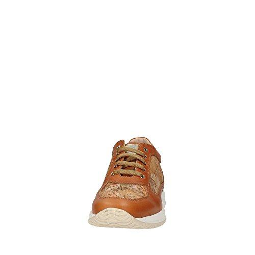 ALVIERO MARTINI , Chaussures de ville à lacets pour femme marron cuir