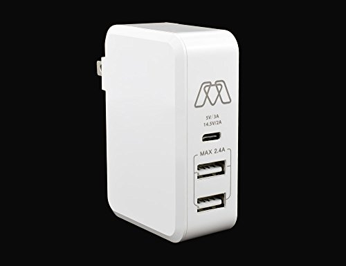 Sewell MOS Charge USB-C and 2 USB-A Full Speed Wall Charg...