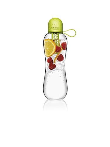 Bobble PLUS, reusable water bottle, filtration water bottle, infuse water bottle, carbon filter water bottle, BPA-Free water bottle, dishwasher safe, Tritan bottle, 20 fl oz. / 590 mL, Citron