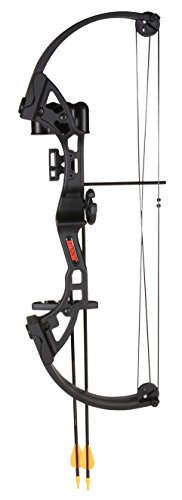 Left Components Bow (Bear Archery Brave Youth Bow – Black)