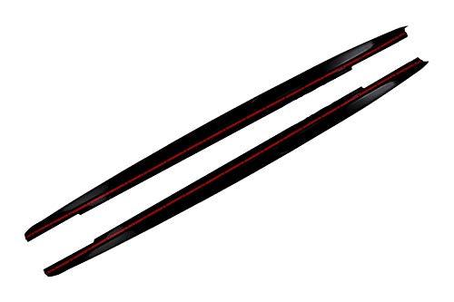 Prolunga per gonne laterali KITT SSLBMG30MPB modello 2017+ colore: nero