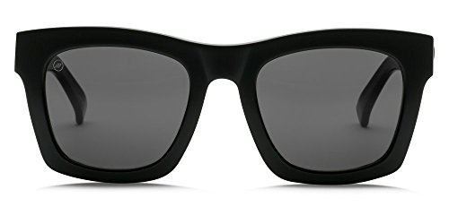 Electric CRASHER Gloss Black OHM Grey Sunglasses by Electric Visual