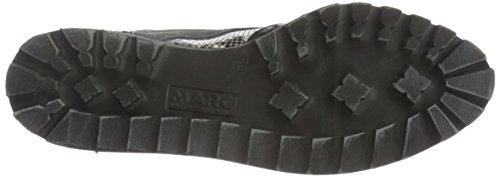 Black Shoes Zapatos 00024 Marc Cordones combi Negro Mujer con para 50204 8fwUw7