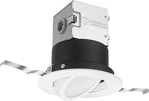Lithonia Lighting 4JBK ADJ 30K 90CRI MW M6 Round 3000K 90 CRI 4