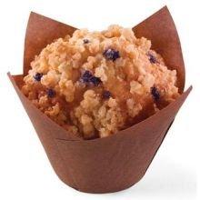 Otis Spunkmeyer Blueberry Crumb Cake Supreme Muffin, 4 Ounce -- 24 per case. ()