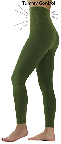 - 31Hb3ETluZL - Ylluo Premium Tummy Support Slimming Leggings Thick High Waist Fleece and Non Fleece