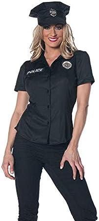 Horror-Shop Mujer policía Camisa Tallas Grandes XL / 42: Amazon.es: Juguetes y juegos