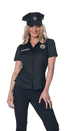 Horror-Shop Mujer policía camisa Tallas grandes XL   42  Amazon.es  Juguetes  y juegos b125a774f559