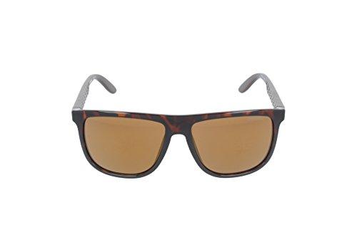 Carrera - Lunette de soleil 5003 Rectangulaire Noir (Havana Matte Brown)