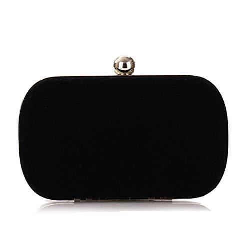 Korean Black Banquet Bag Royal Evening Blue Fashion Fashion Color Bag Bag Ruili Flannel Bag Handbags Fly Bag Clutch Dinner UHnIq1E