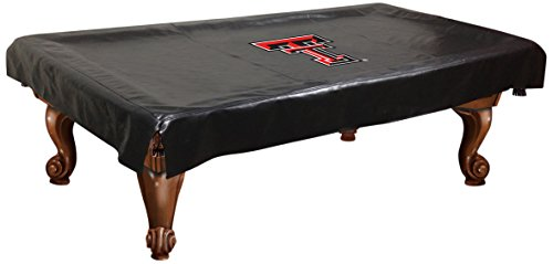 NCAA Texas Tech Red Raiders Billiard Table Cover, 9-Feet