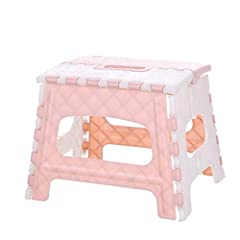 Plastic Multi Purpose Folding Step Stool ,Bathroom Children Small Bench ,Portable Adult Outdoor Fishing Stool ,Home Train Outdoor Storage Foldable  Features:  High quality materials, wear resistant and durable Foldable, small footprint, easy...