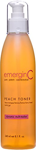 emerginC – Peach Toner with Vitamin C Witch Hazel to Refresh Soothe 8.1oz 240ml
