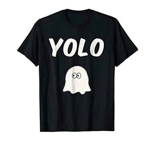 Yolo Scary Cute Ghost Funny Halloween Friendly Ghost -