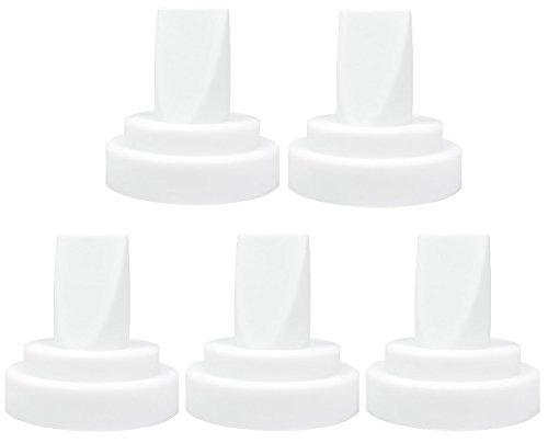 NeneSupply 5 Count Duckbill Valves. Suitable for Medela Breastshields and NeneSupply Breastshields. One Duckbill Valve replaces Medela Valve, and Membrane.