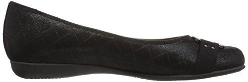 Women's Sizzle M US 9 Black 5 Flat Ballet Trotters dwxfnzZ7d