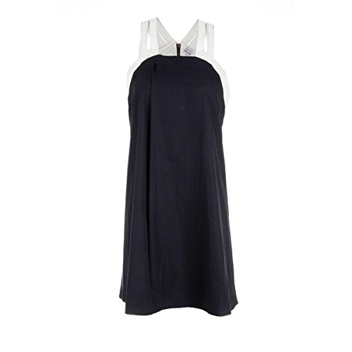 rdm-by-rue-du-mail-womens-poplin-faux-trim-casual-dress-navy-42