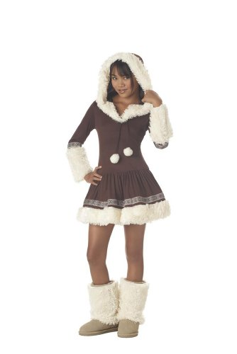California Costume Collections CC04019-L Tween Polar Princess Eskimo Costume Size Large
