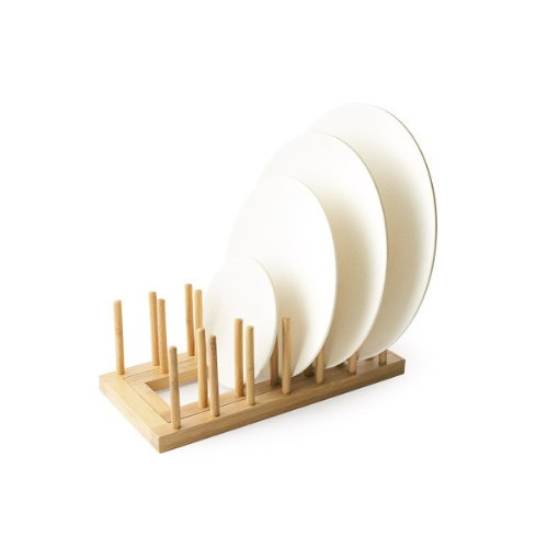 Bamboo Studio Expandable Bamboo Plate Rack (Bamboo Studio)