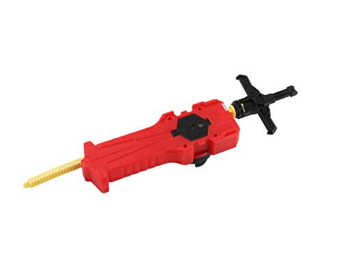 Bey Battle Blade Burst Launcher Grip Evolution Turbo Supergrip B-70 Sword Launcher Strong Right Spining Top Toys Accessories for Prime(Red)