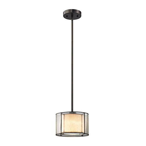Mirage Collection 1 Light - Alumbrada Collection Mirage 1 Light Pendant In Tiffany Bronze