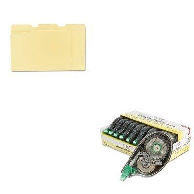 KITTOM68720UNV12113 - Value Kit - Tombow MONO Correction Tape (TOM68720) and Universal File Folders (UNV12113)