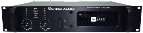 - Crest Audio Pro 5200 1700 Watt Professional Power Pro/DJ Amplifier PRO5200 Amp