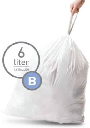 Trash Bags: Simplehuman code B
