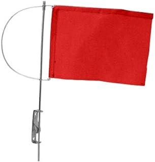 Bandiera del vento, rossa, 325mm, 200mm AISI 316 Yacht Steel