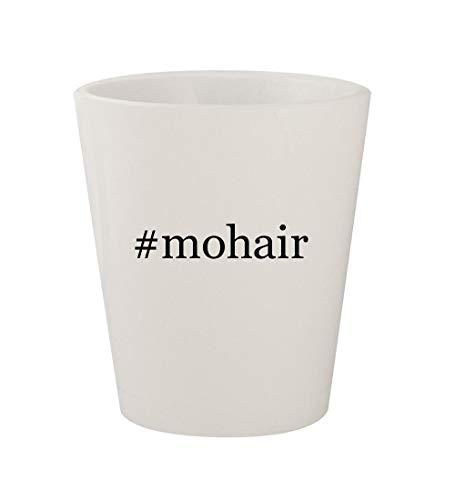 #mohair - Ceramic White Hashtag 1.5oz Shot - Moonlight Mohair Yarn