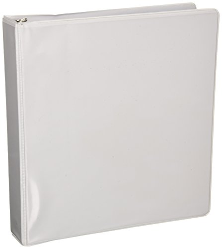 Business Source 1.5-Inch Standard Presentation Binder - White (09983) ()