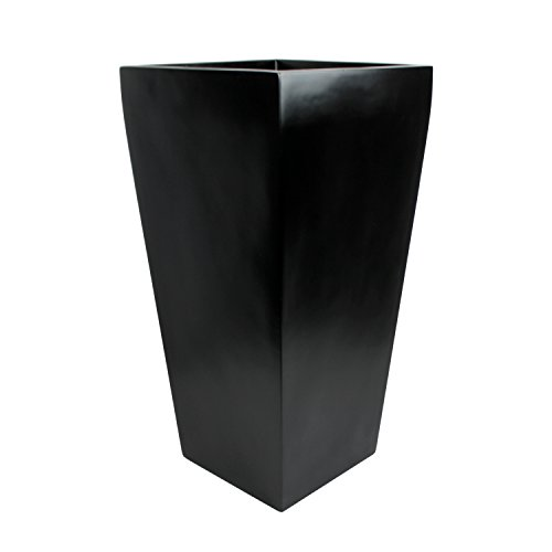 Edinburgh Tall Square Fiberglass Planter (L:18