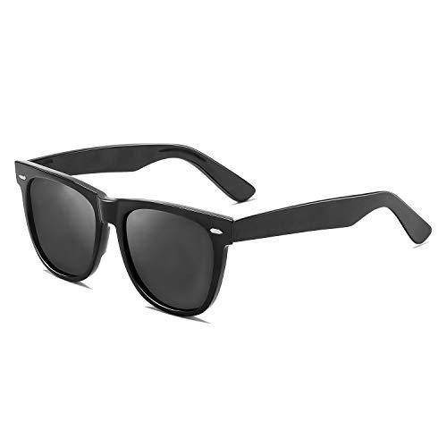 Vintage Unisex Polarized Sunglasses Classic Men Women Retro Brand Designer Sun Glasses Driving Outdoor ()