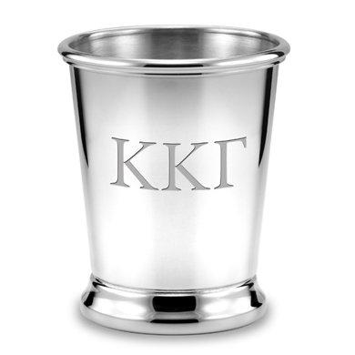 M. LA HART Kappa Kappa Gamma Pewter Julep Cup
