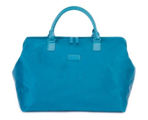 lipault-paris-18-inch-weekend-satchel-aqua-medium