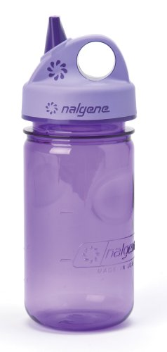 Nalgene Tritan 12 Ounce Grip-N-Gulp BPA Free Water Bottle