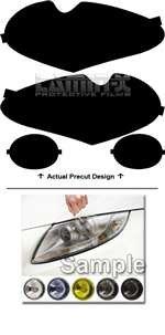 Jaguar XJ (2003, 2004, 2005, 2006, 2007, 2008, 2009) Headlight Film Covers Color: ( CLEAR ) by Lamin-x