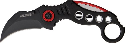 Tac Force TF-578BK Tactical Assisted Opening Folding Knife 5.25-Inch Closed