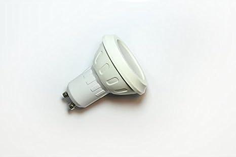 Aigostar - Pack de 10 bombillas led, base gu10, 8w, luz blanca 6400k: Amazon.es: Hogar