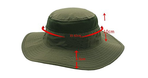 Cuca-Dunna-Fishing-Camping-Hunting-Hiking-Sun-Hat-UPF-50-Summer-Outdoor-Bucket-Sun-Cap