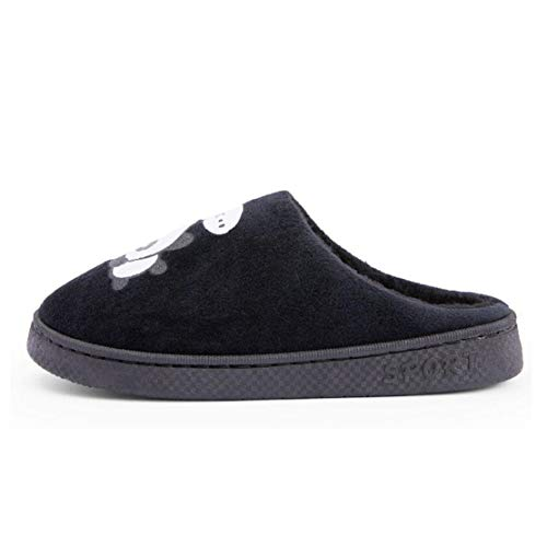 Black Slippers for Slippers Men Women Panda QZBAOSHU for Tqw0xBUpF