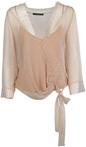Alberta Ferretti Luxury Fashion Donna 0217115A0180 Rosa Blusa | Primavera Estate 19