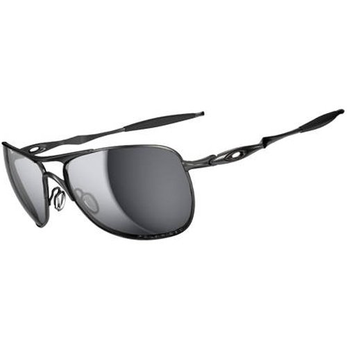 Oakley Crosshair Men's Polarized Active Lifestyle Sunglasses - Lead/Black Iridium / One Size Fits - Oakley Crosshair