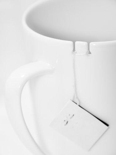 le mouton noir & co Tie Tea for Right Handed Person, White
