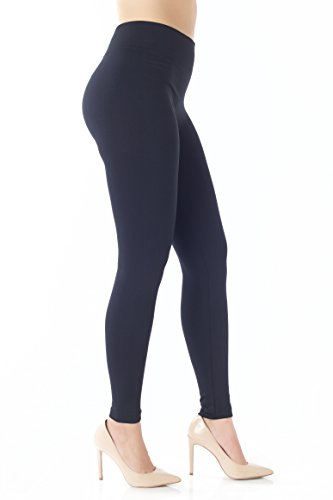 Conceited Fleece Lined Leggings for Women - LFL Black - Large/X-Large ()