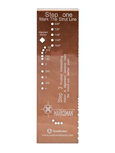 MAXIS MM01 (58281901) Spacer Marksman Conduit Layout Tool 2X0.25X6.5 AL (5 Units)